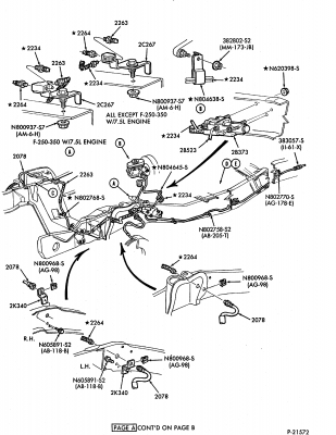 1986 Ford F700 Truck Wiring Diagrams