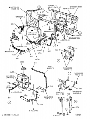 7.3l turbo diagram - wiring diagram 73 powerstroke cooling system diagram